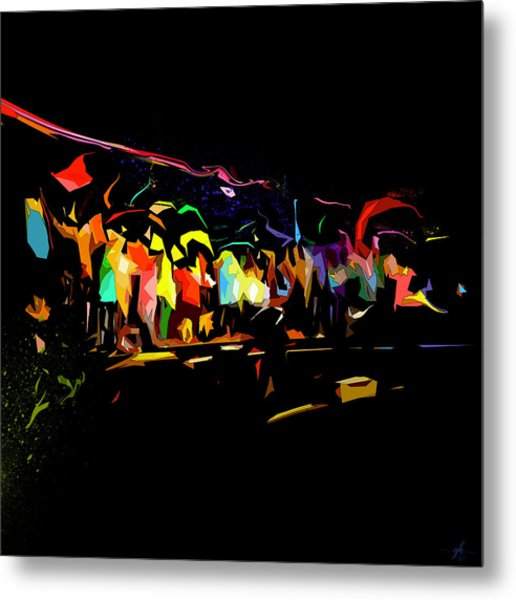 Elation Metal Print