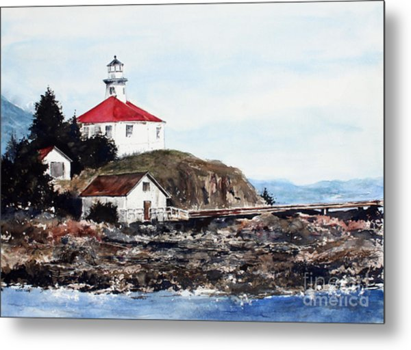 Eldred Rock Lighthouse Metal Print