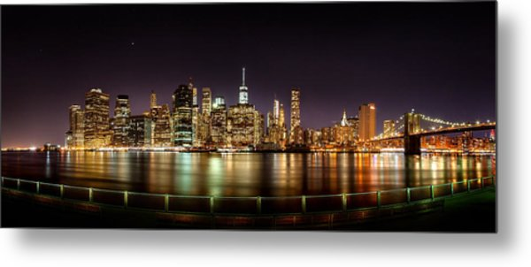 Electric City Metal Print