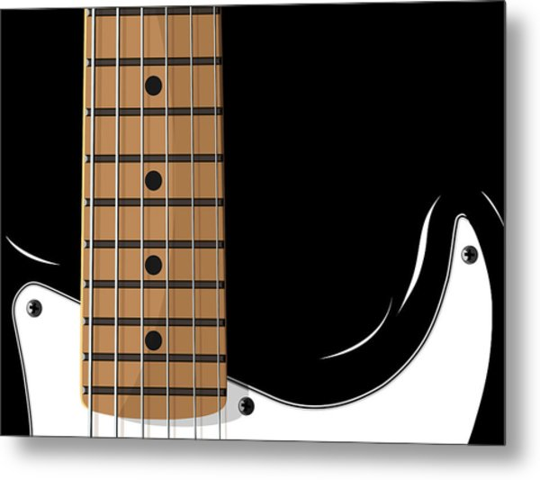 Electric Guitar Metal Print