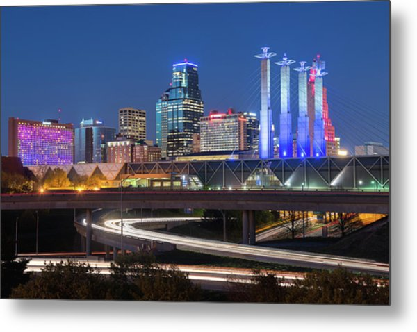 Electric Kc Metal Print