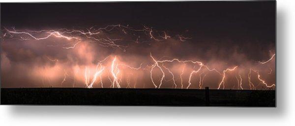 Electric Panoramic Iv Metal Print