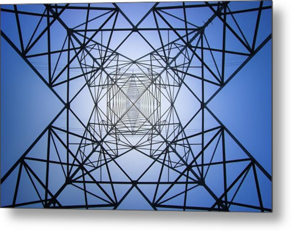 Electrical Symmetry Metal Print