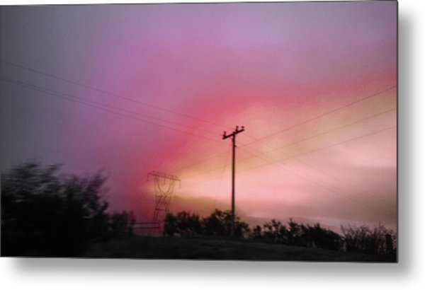 Metal Print featuring the photograph Electrified by Pacific Northwest Imagery