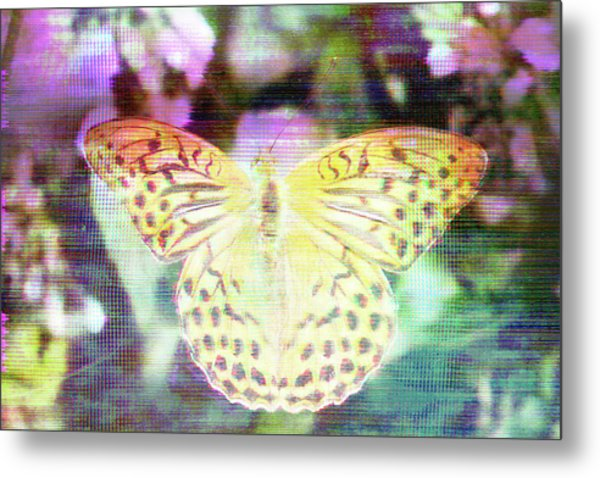 Metal Print featuring the digital art Electronic Wildlife  by Bee-Bee Deigner