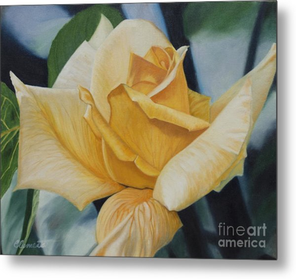 Elegant Beauty Metal Print
