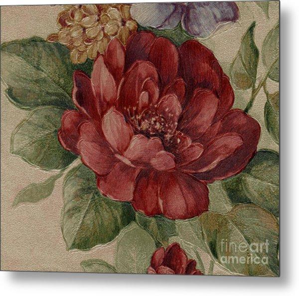 Elegant Rose Metal Print