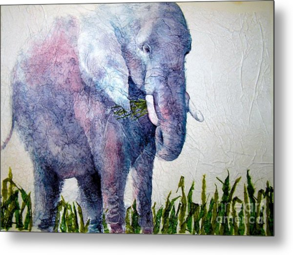 Elephant Sanctuary Metal Print