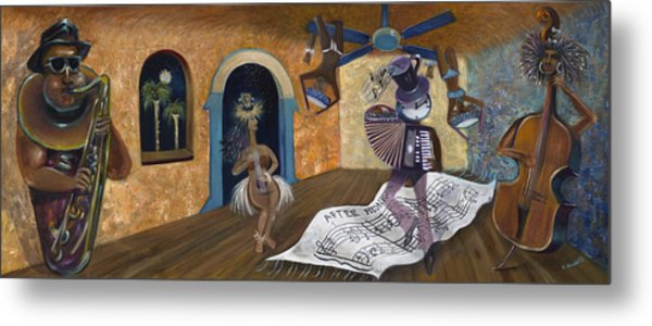 Eleven Minutes After Midnight Metal Print