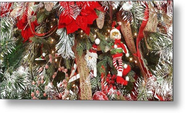 Elf In A Tree Metal Print