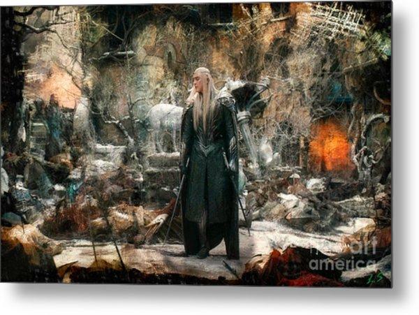 Elf King Thranduil  Metal Print