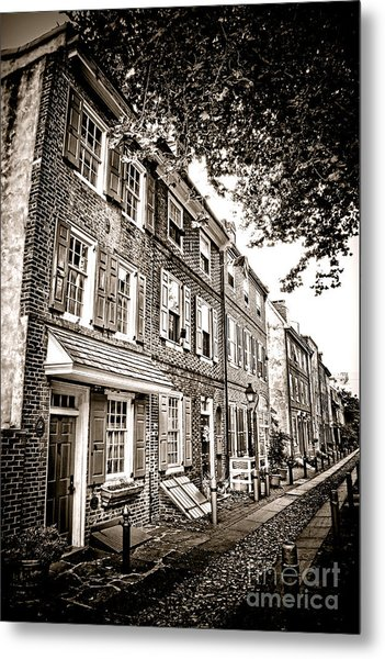 Elfreth Alley  Metal Print