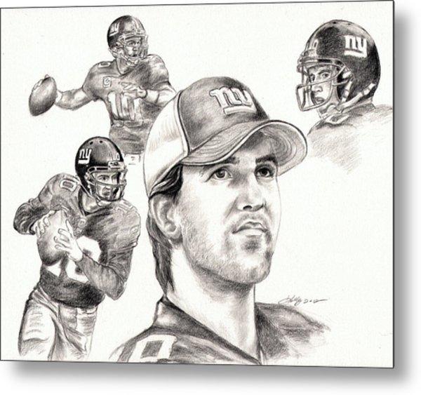 Eli Manning Metal Print