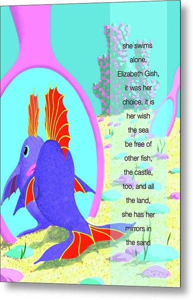 Elizabeth Gish Metal Print by Tom Dickson