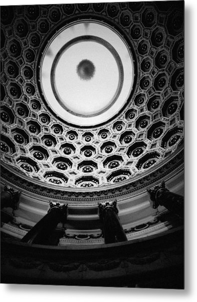 Elks National Veterans Memorial Rotunda Metal Print
