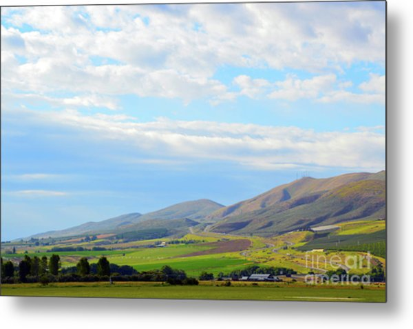 Ellensburg - Manastash Ridge Metal Print