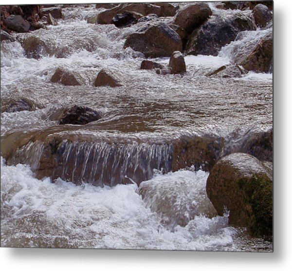 Ellenville Waterfall Metal Print