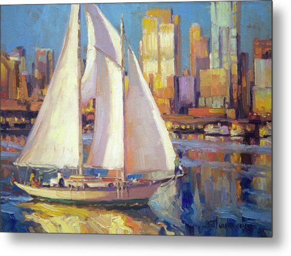 Elliot Bay Metal Print