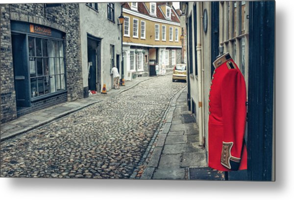 Elm Street Guard Metal Print
