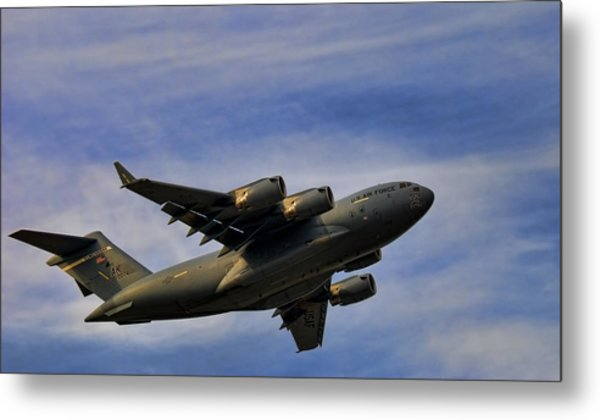 Elmendorf Third Wing Metal Print