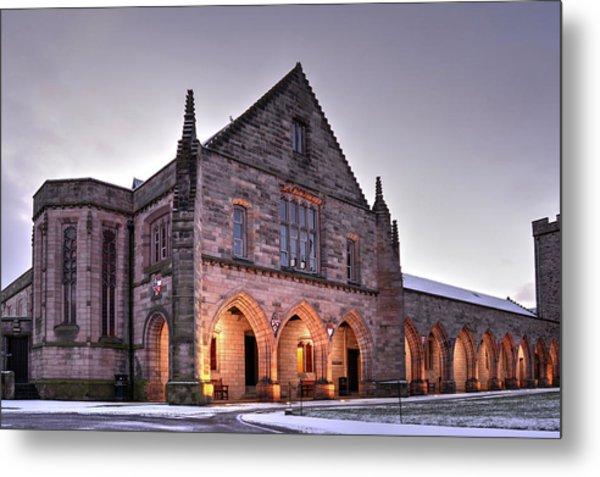 Elphinstone Hall - University Of Aberdeen Metal Print