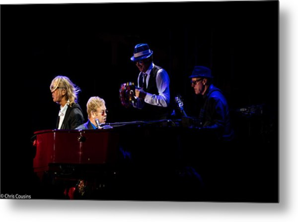 Elton - Gather Round Metal Print
