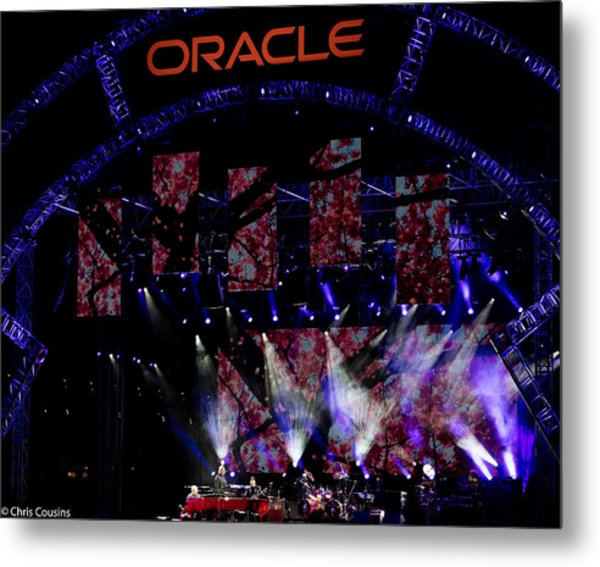Elton John At Oracle Open World In 2015 Metal Print