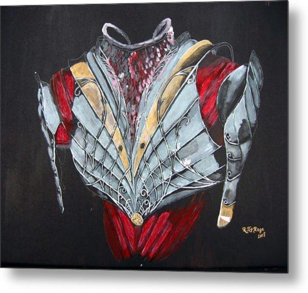 Elven Armor Metal Print