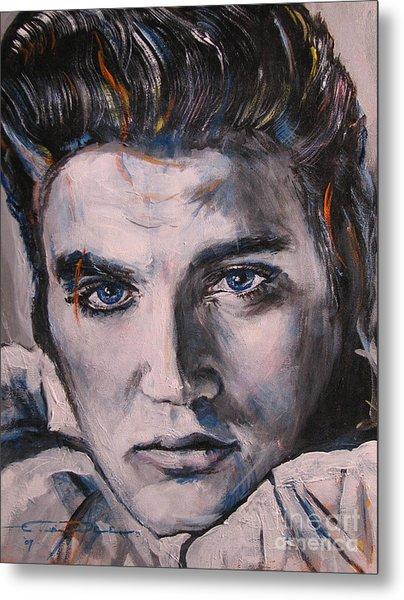 Elvis 2 Metal Print