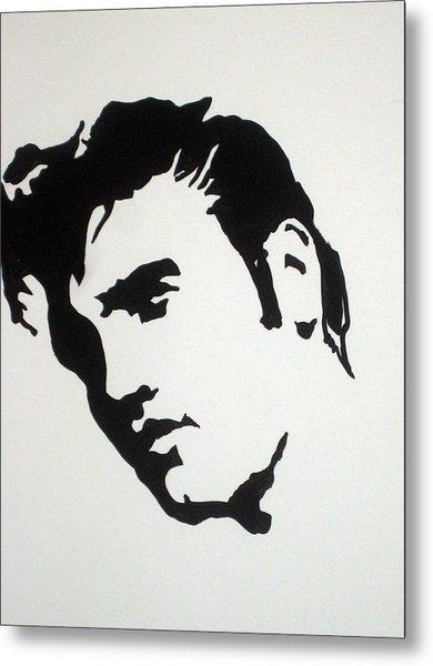 Elvis Before Time Metal Print