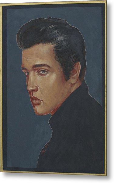 Elvis Presley Metal Print by Jovana Kolic