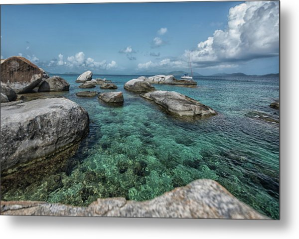 Emerald Bath  Metal Print