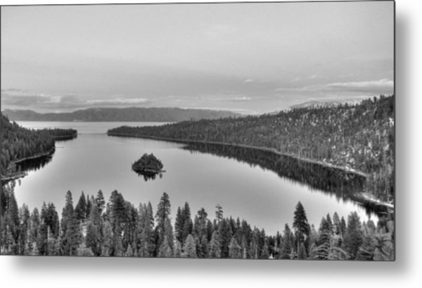Emerald Bay Lake Tahoe Metal Print by Brad Scott