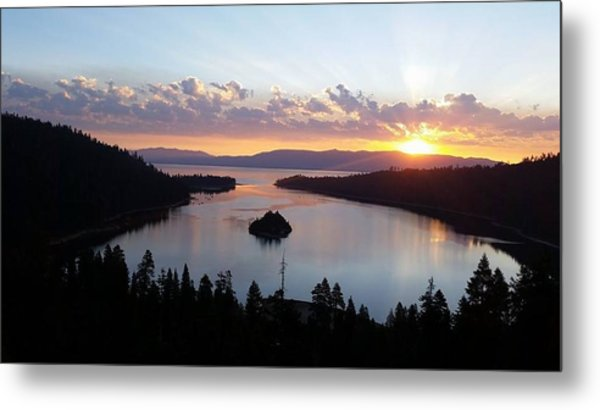 Emerald Bay Sunrise Metal Print