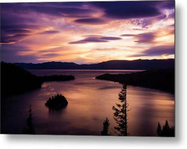 Emerald Bay Sunrise - Lake Tahoe, California Metal Print