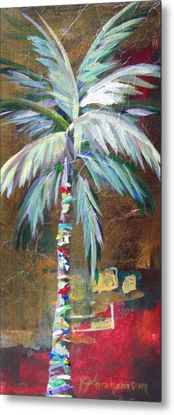 Emerald Fire Palm  Metal Print