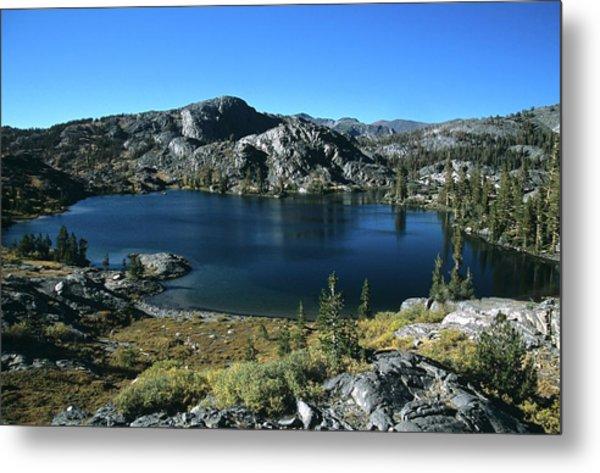 Emerald Lake From Jmt  Metal Print