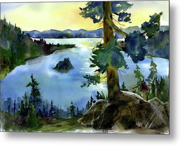 Emerald Morn, Lake Tahoe Metal Print
