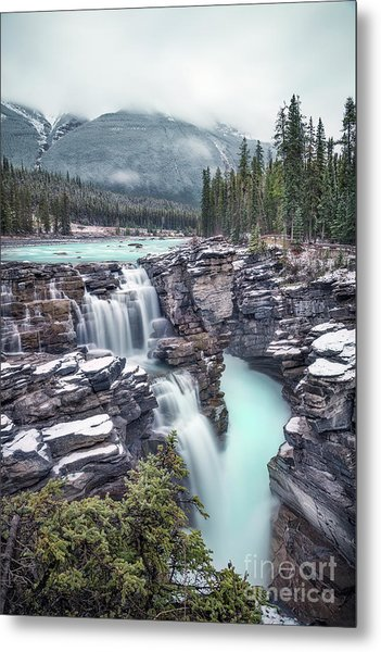Emerald Rush Metal Print