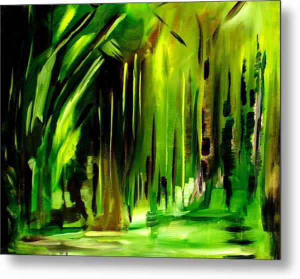 Emerald Vision Metal Print by Ellen Seymour