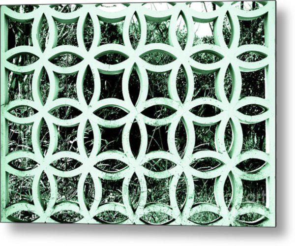 Emerald Window 2 Angeloff J Metal Print