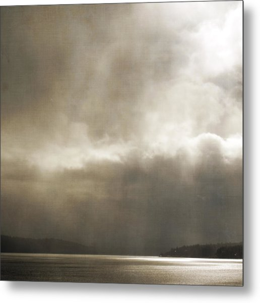 Metal Print featuring the photograph Emerging Light by Sally Banfill