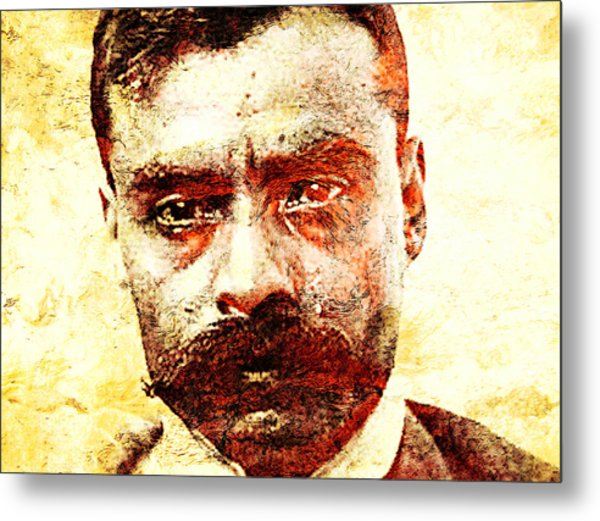 Emiliano Zapata Metal Print