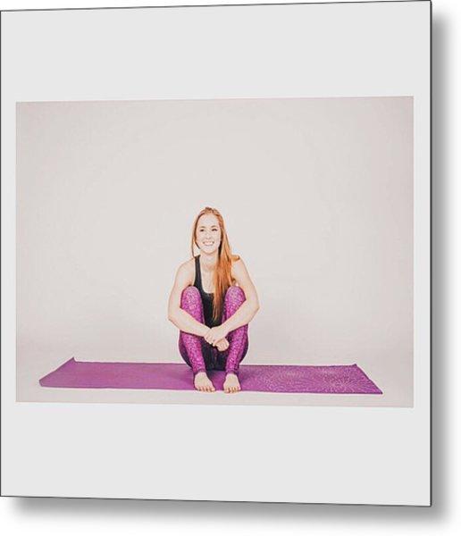 @emilymsmith49 The Yoga Yogi Metal Print