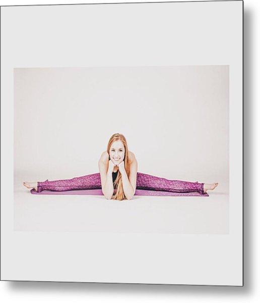 @emilymsmith49 The #yoga #yogi #fitness Metal Print