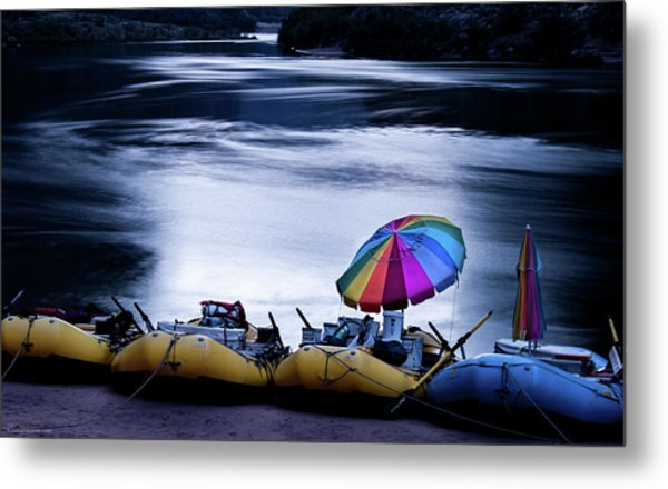 Eminence Camp Umbrella  Metal Print