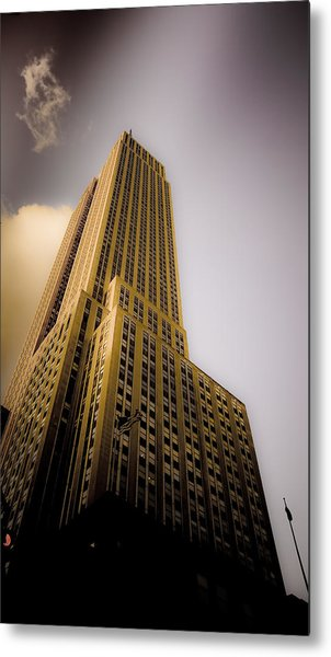 Empire State Building Metal Print by Patrick  Flynn