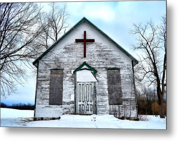 Empty Church Metal Print