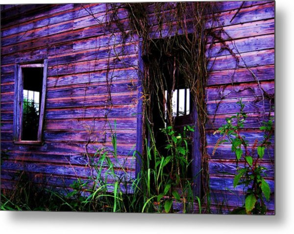 Empty Days Metal Print by Beverly Hammond