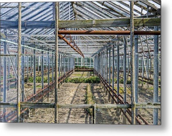Empty Greenhouse Metal Print